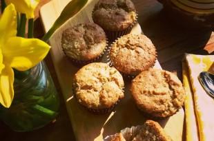 sugarfree apple cinnamon muffins