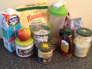 Breakfast to Go Ingredients